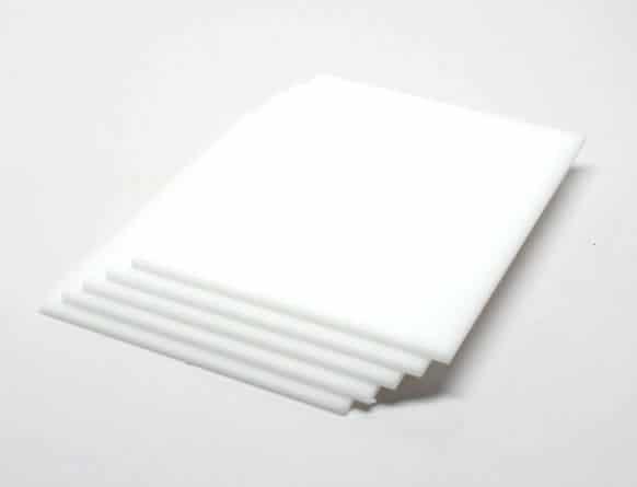 tấm nhựa mica trắng sữa