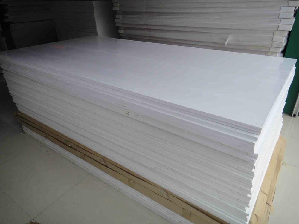 tấm ván nhựa giả gỗ pvc bọt foam