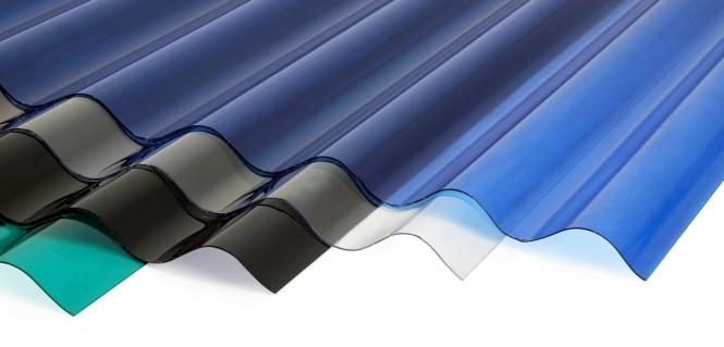 tấm polycarbonate dạng tole sóng
