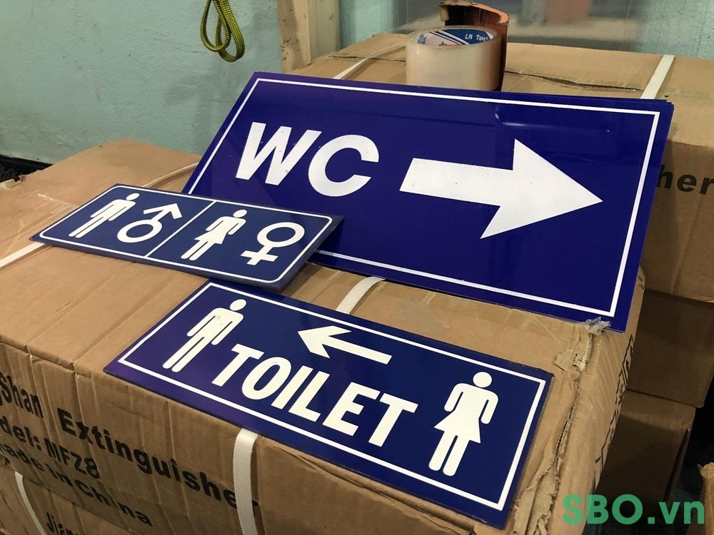bảng wc giá rẻ