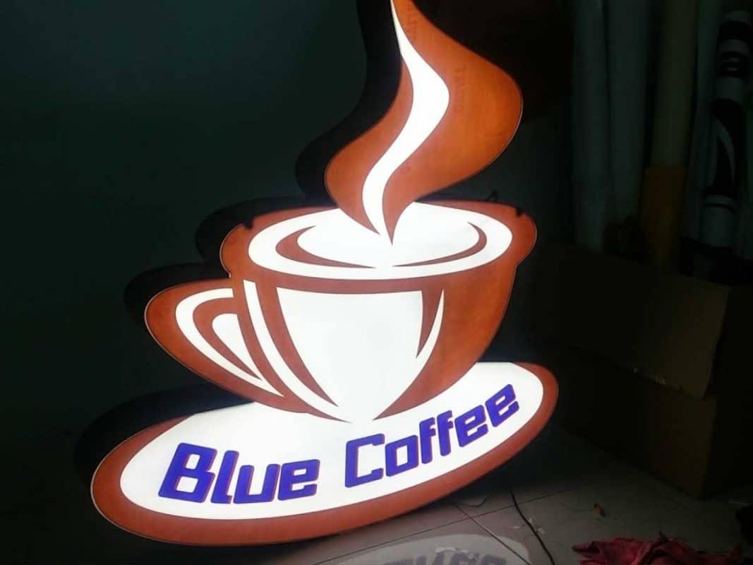 bảng hiệu quán cà phê đẹp TPHCM