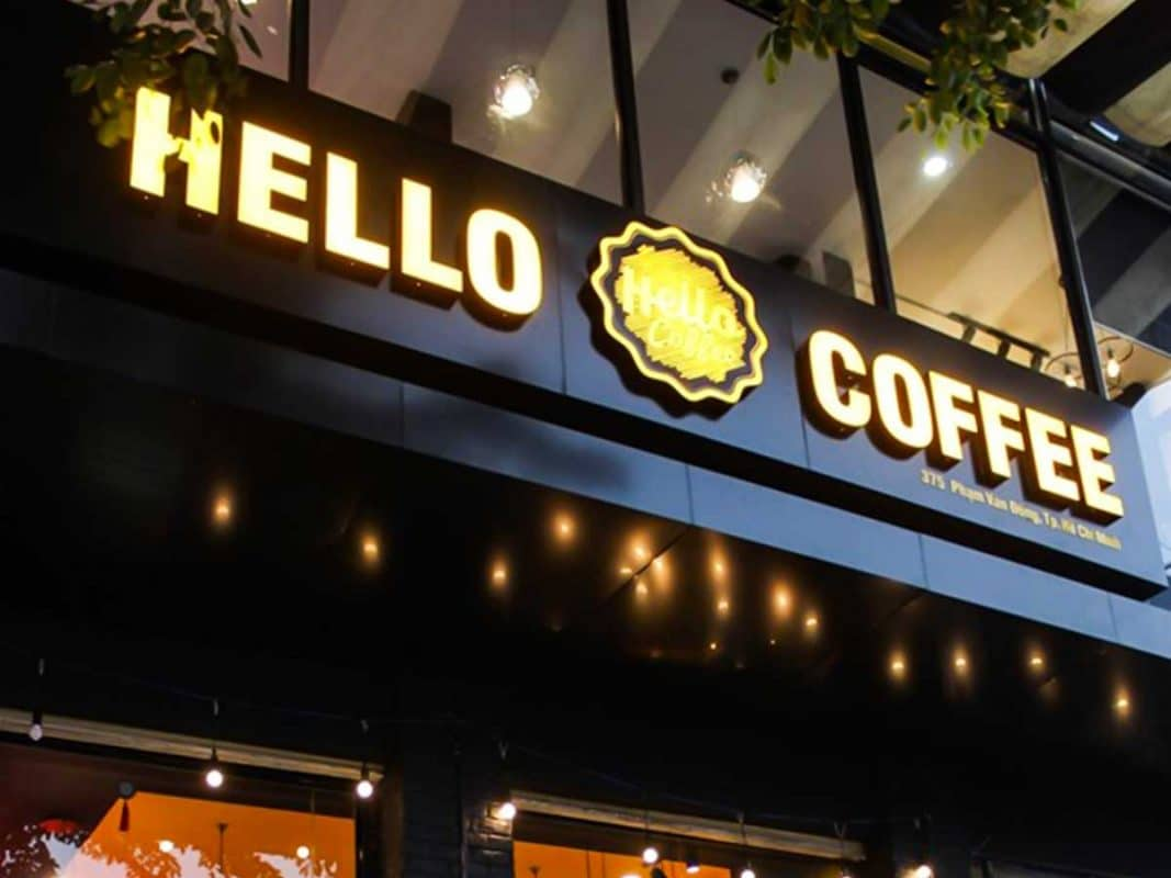 ẫu bảng hiệu quán coffee ở Sài Gòn