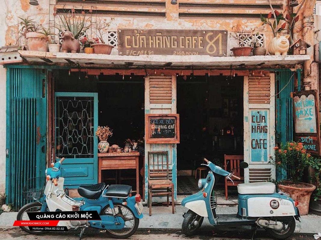 Bảng hiệu Sài Gòn xưa cổ điển tha hồ checkin