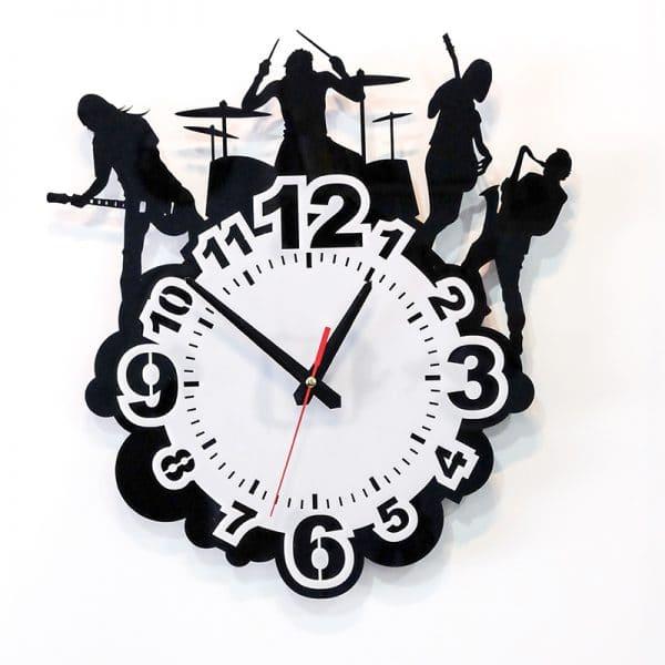Đồng hồ treo tường mica hình ban nhạc SB007