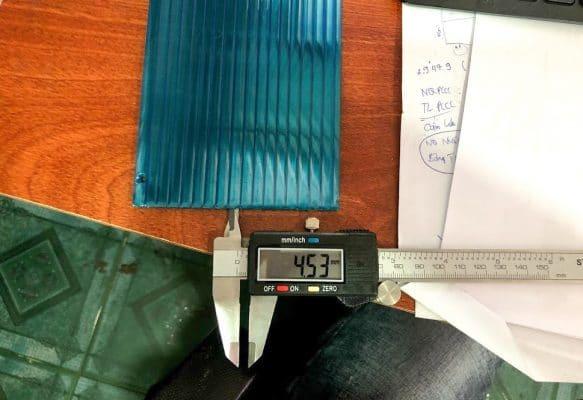 Tổng hợp về kích thước tấm polycarbonate đặc ruột, rỗng ruột và tôn sóng