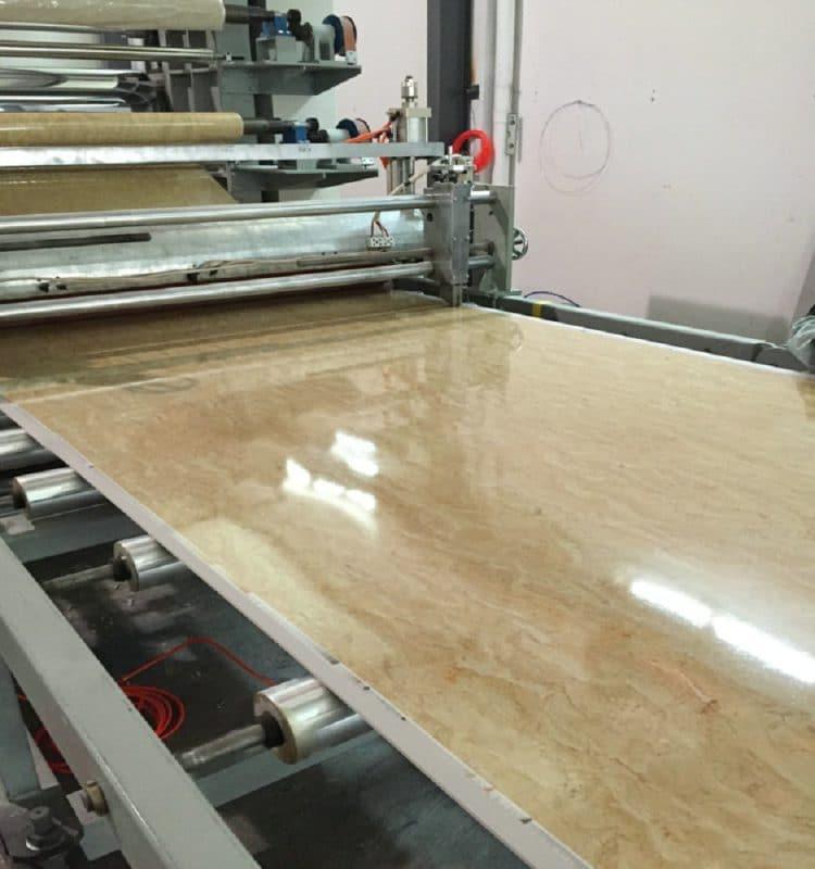 sản xuất tấm nhựa pvc giả đá cẩm thạch chất lượng cao
