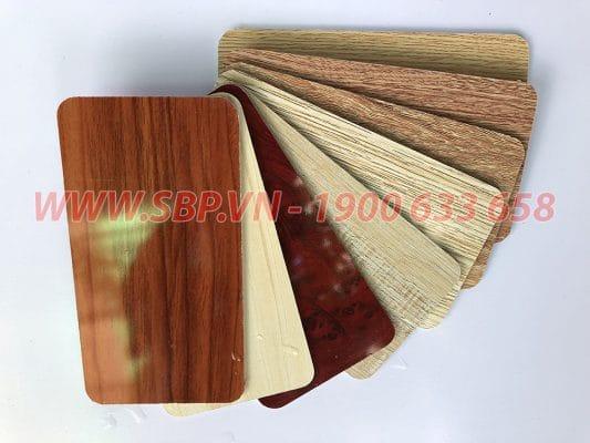 tấm gỗ nhựa pvc vân gỗ SBP
