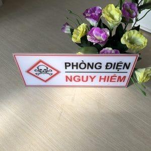 bảng cảnh báo phòng điện nguy hiểm