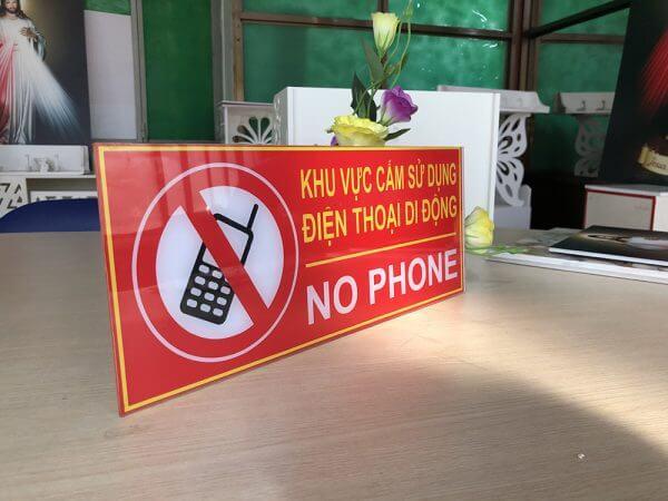 bảng no phone