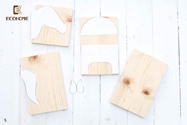 Cách tự làm kệ sách để bàn handmade đơn giản ảnh 2