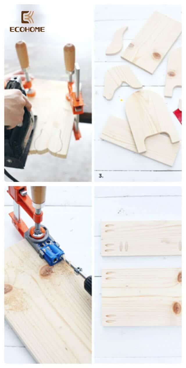 Cách tự làm kệ sách để bàn handmade đơn giản ảnh 3
