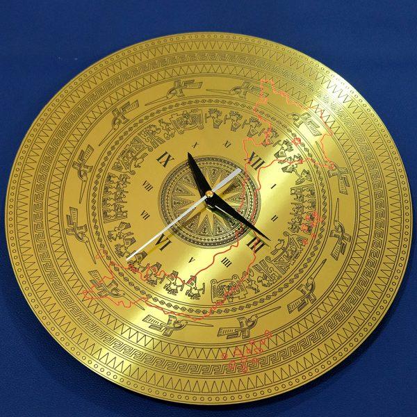 đồng hồ treo tường trống đồng Việt Nam