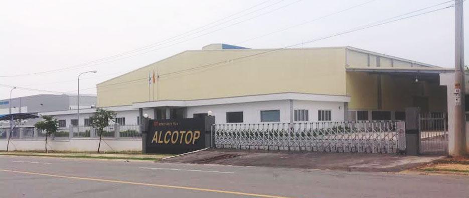 nhà máy Alcotop