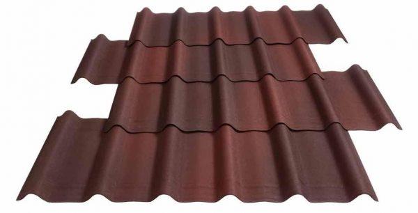 Roofing tile Onduvilla sheet panel