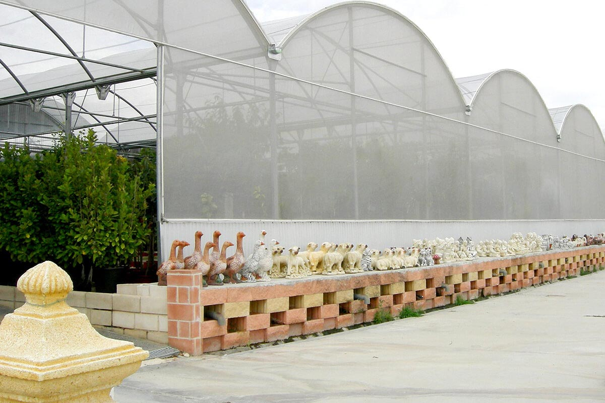 Lưới chống côn trùng Đài Loan 32Mesh phủ nhà kính nông nghiệp
