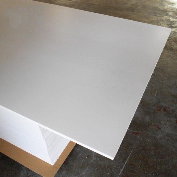 nhựa pvc kỹ thuật màu trắng