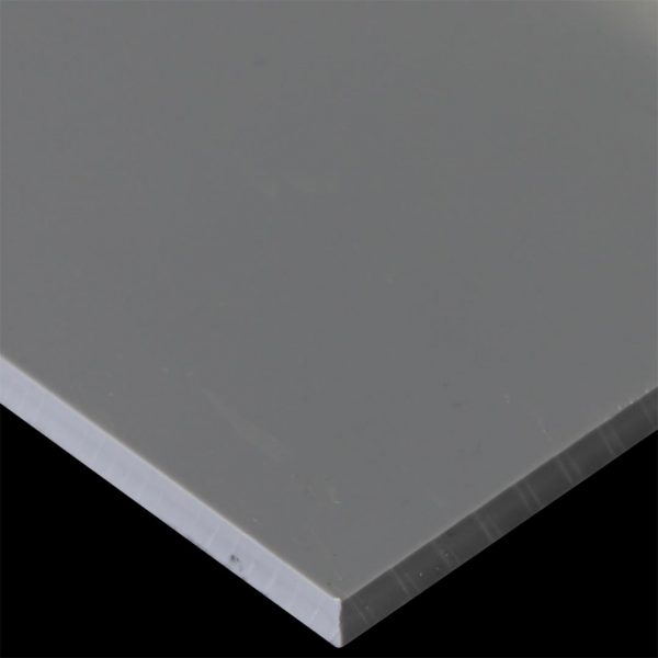 tấm nhựa pvc kỹ thuật cao màu xám khói