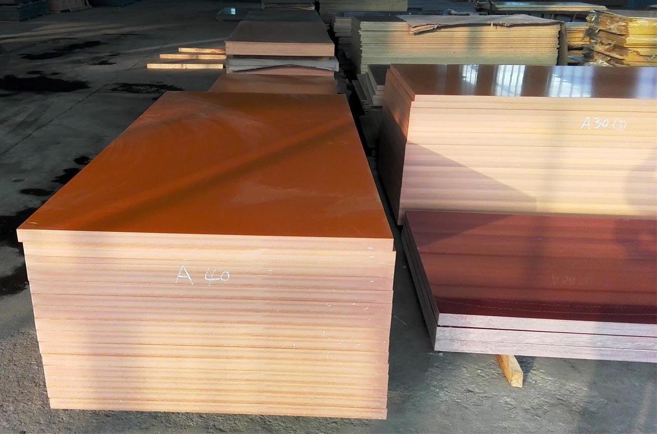 phenolic paper bakelite orange sheet