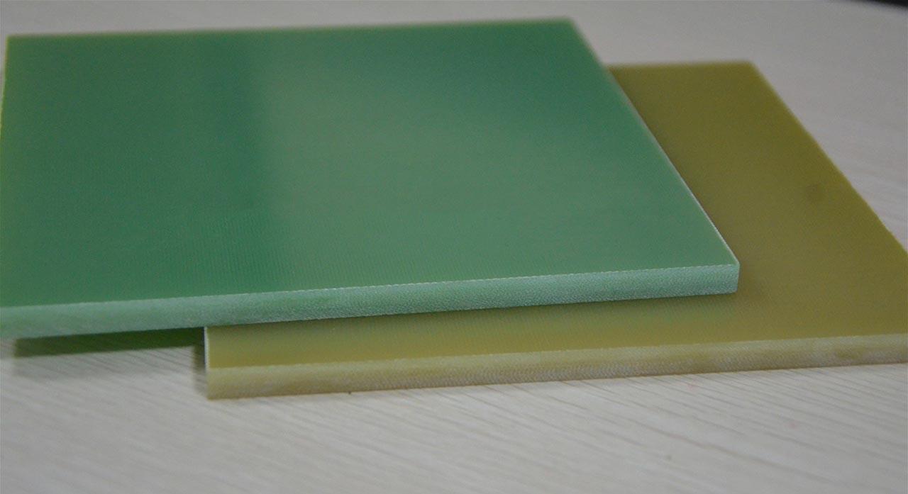 so sánh tấm phíp xanh với phíp vàng sợi thủy tinh epoxy