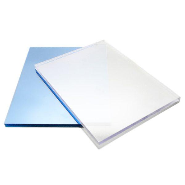 Tấm lợp thông minh polycarbonate đặc ruột dày 2.8mm phủ UV