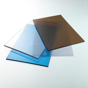 Tấm nhựa polycarbonate đặc ruột dày 5mm phủ UV