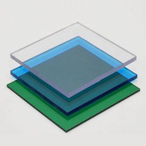 Tấm lợp lấy sáng polycarbonate dạng đặc dày 6mm phủ UV