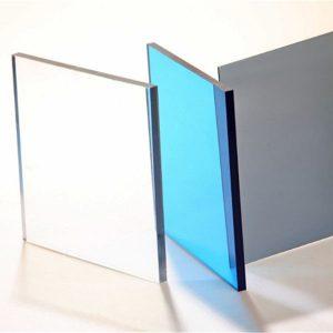 Tấm lợp lấy sáng polycarbonate dạng đặc dày 8mm cao cấp