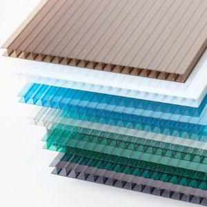 tấm nhựa polycarbonate dạng rỗng ruột