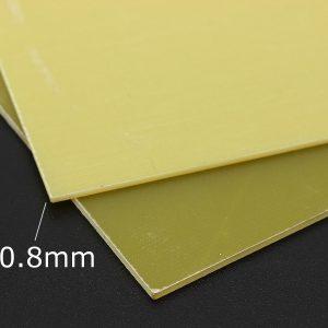 tấm nhựa phíp màu vàng sợi thủy tinh