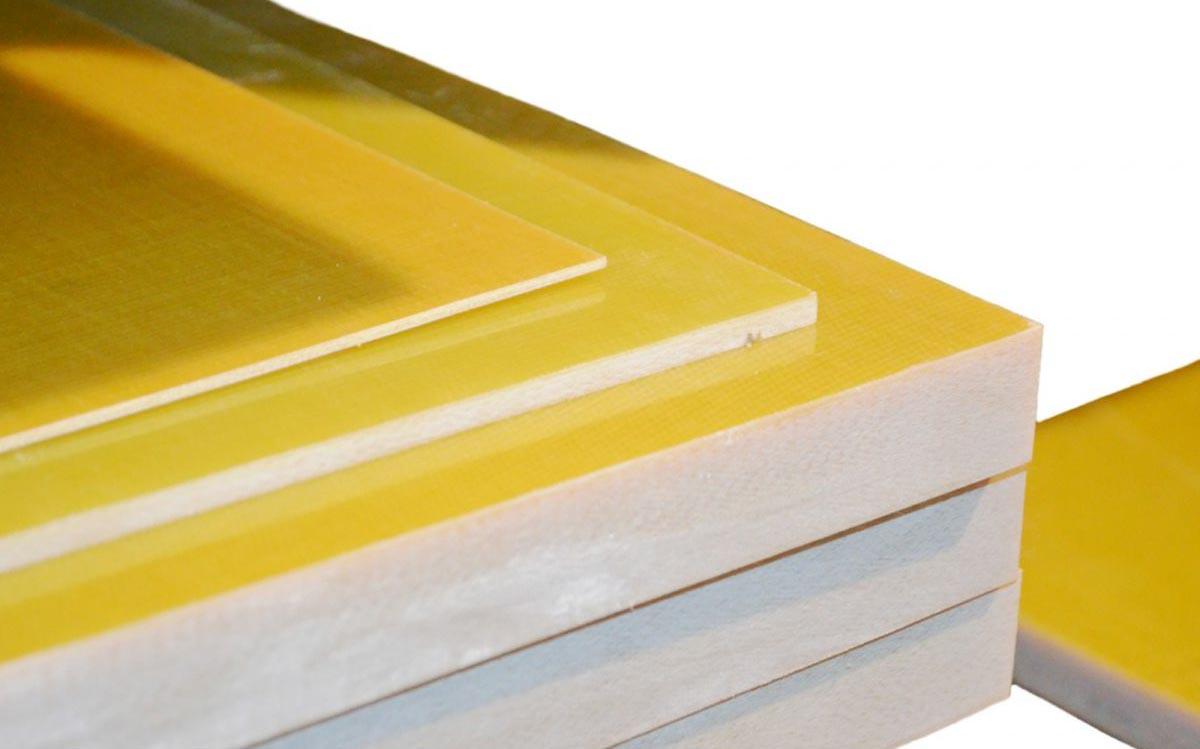 tấm nhựa phíp vàng sợi thủy tinh