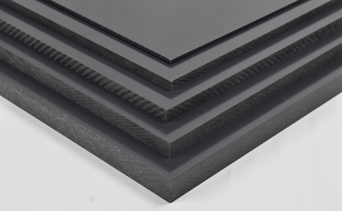 tấm nhựa pvc kỹ thuật màu đen