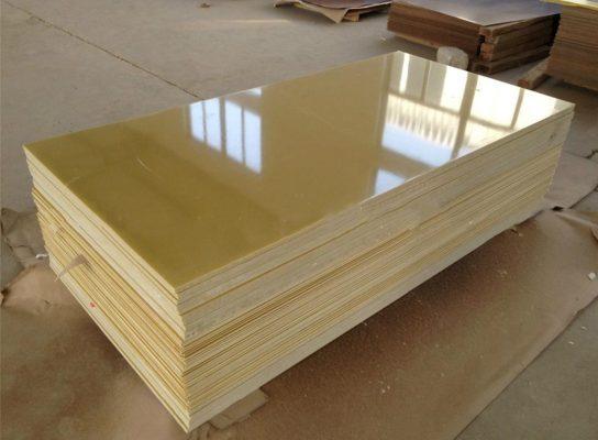 tấm phíp sợi thủy tinh epoxy màu vàng chanh