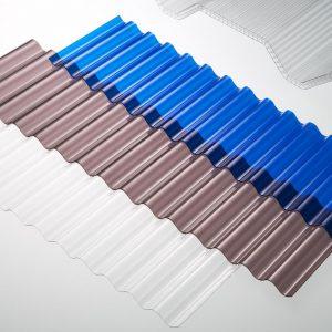 màu sắc tôn sáng polycarbonate
