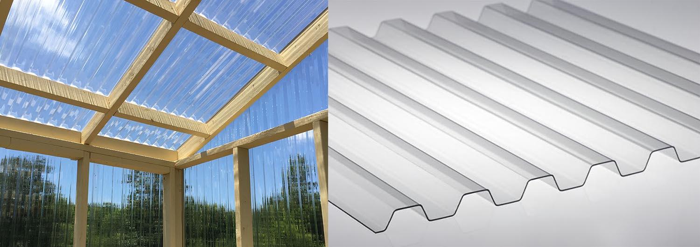 solartuff polycarbonate Corrugated Sheet
