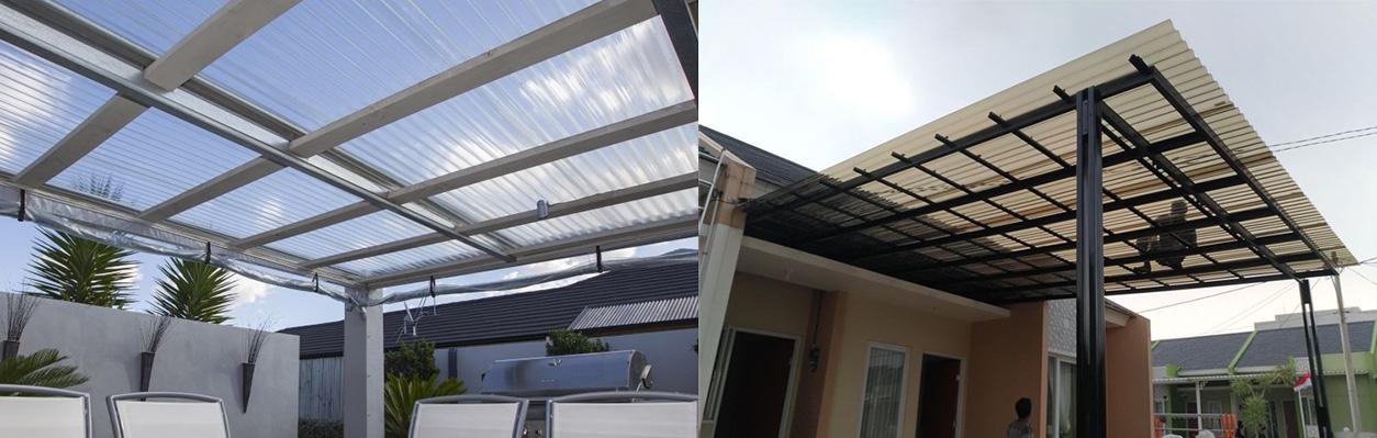 ứng dụng tôn poly lấy sáng lợp mái